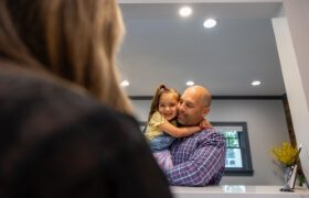 A little boy in the dentist chair